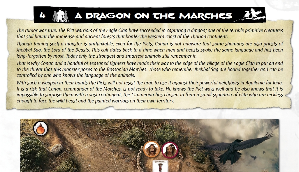 Dragon on the marches