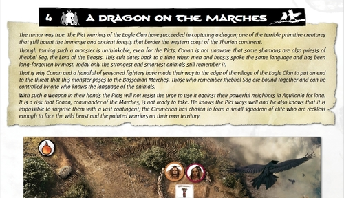 Screenshot for Dragon on the marches