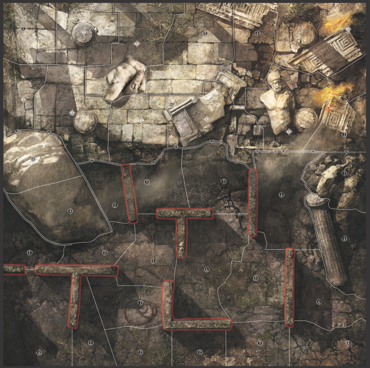 Minos' Labyrinth Map