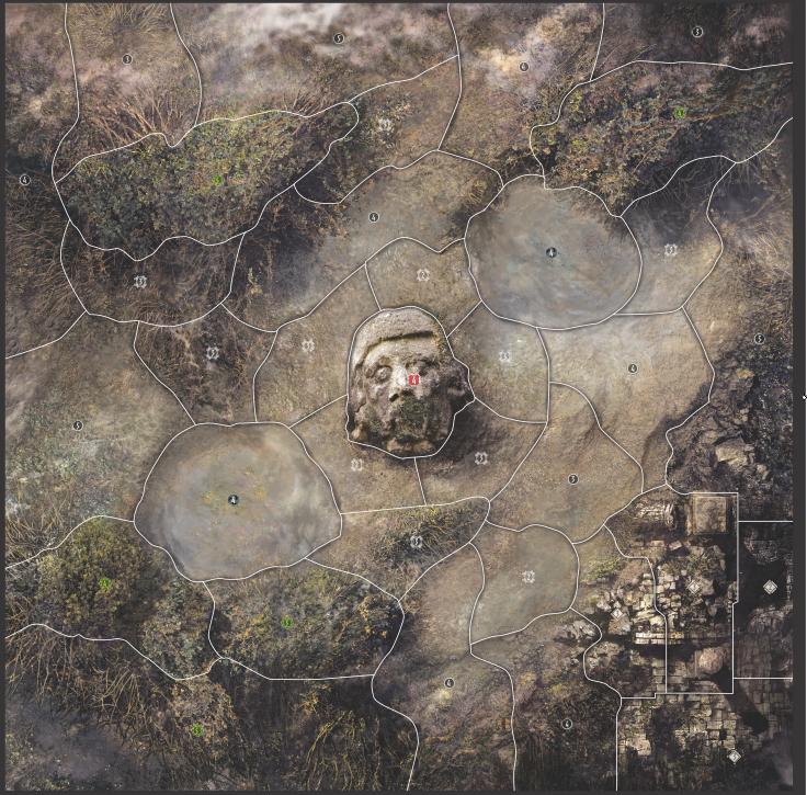 Lernean Swamp Map