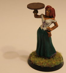 Female servant for the inn