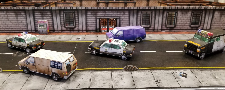 Bank Map 3D prototype - Batman: Gotham City Chronicles - The