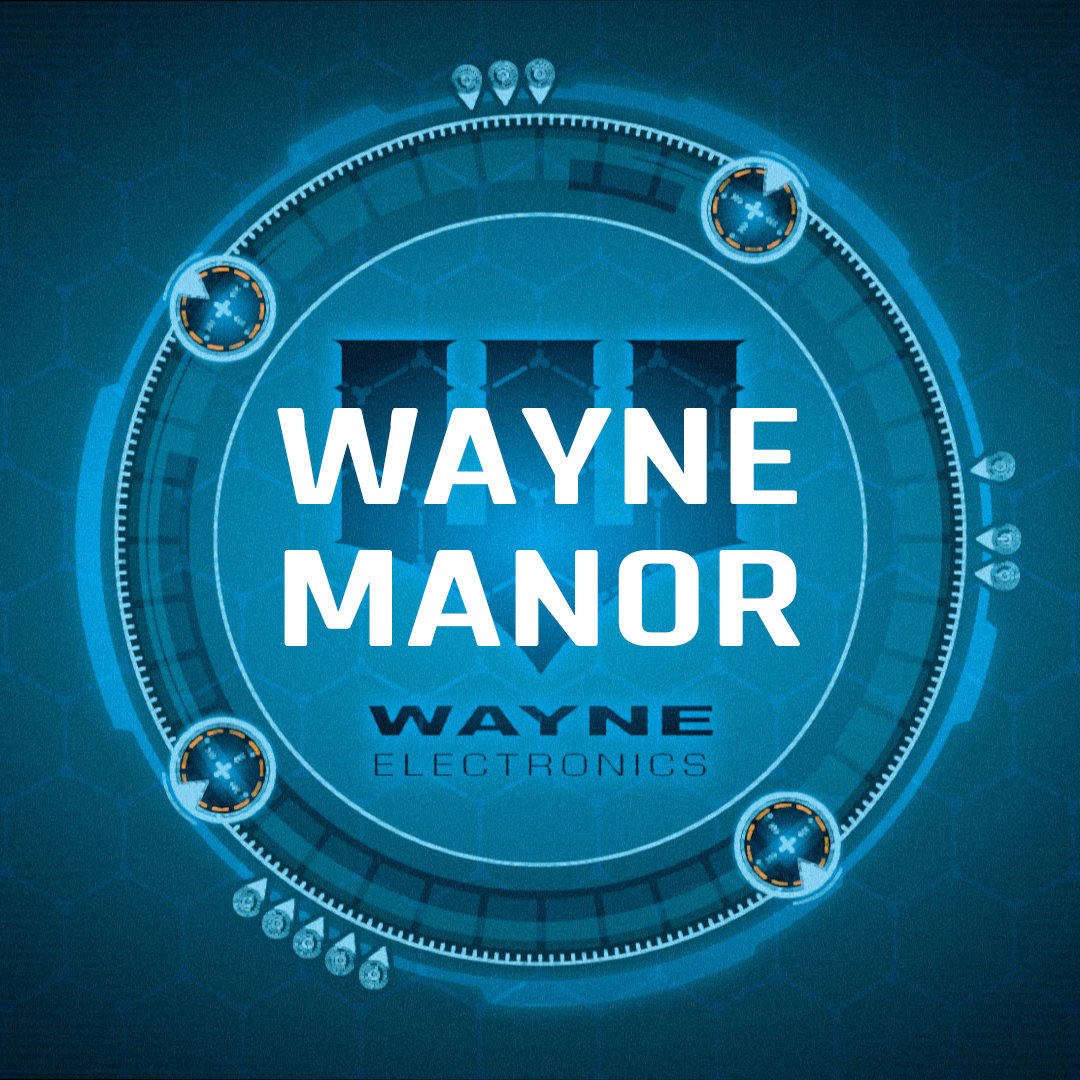 Batman: Gotham City Chronicles - Wayne Manor booklet