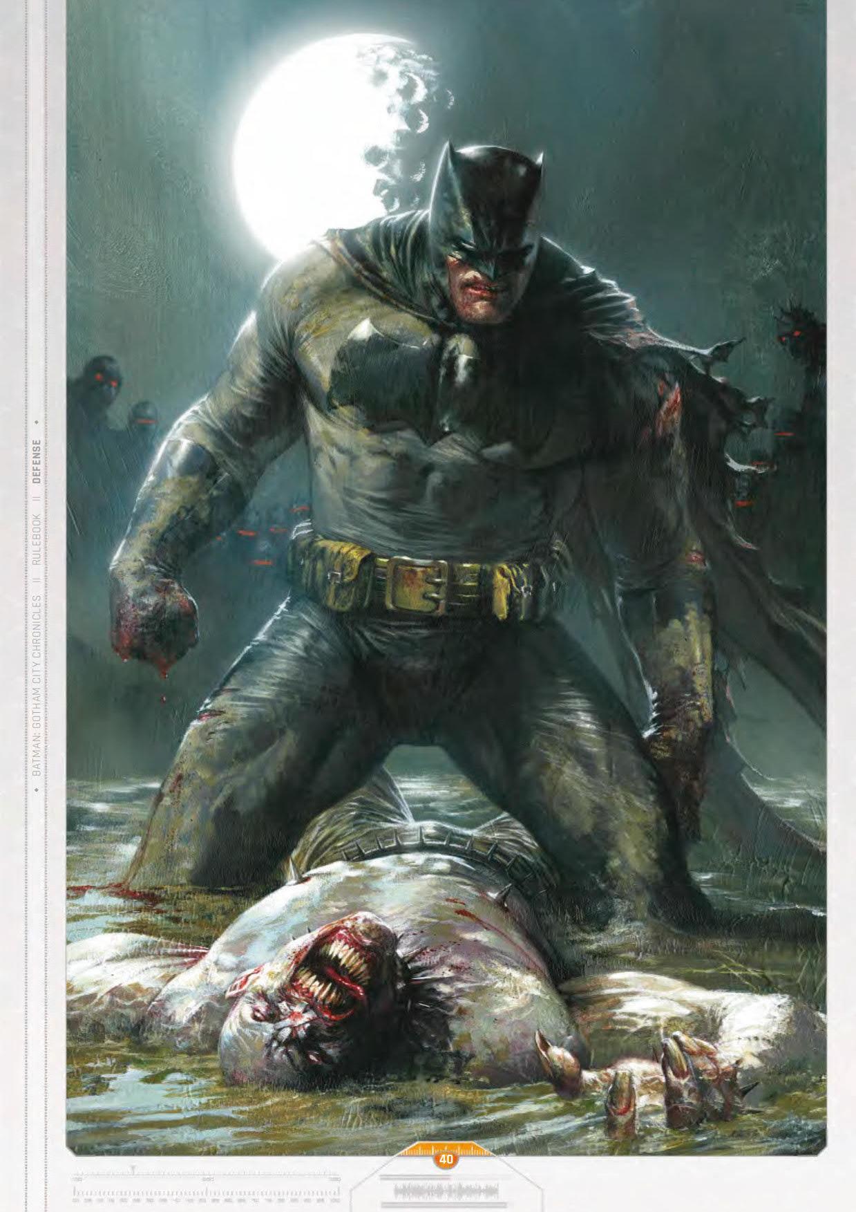 Batman: Gotham City Chronicles - Rulebook (Coreboxes) Slovak