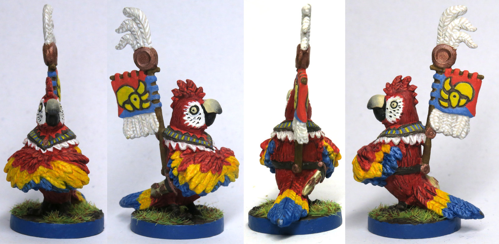 Dawn of Peacemakers - Macaw Leader