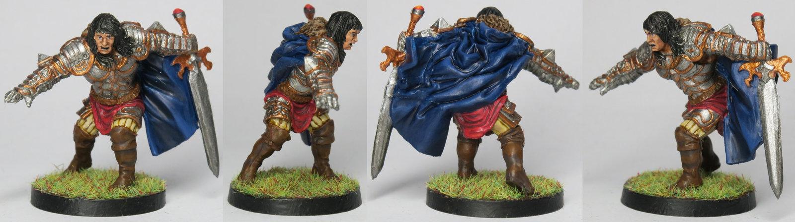 Conan as general