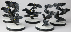 Swarms of crows
